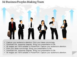 0115 3d Business Peoples Making Team Powerpoint Template