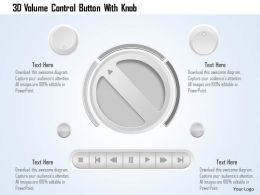 0115_3d_volume_control_button_with_knob_powerpoint_template_Slide01