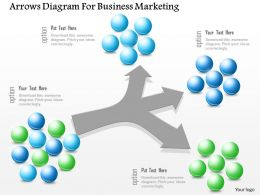 0115 Arrows Diagram For Business Marketing Powerpoint Template