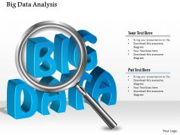 0115 Big Data Analysis Using Magnifying Glass Analysis Ppt Slide