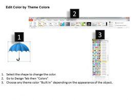 0115_blue_umbrella_with_kaizen_practice_powerpoint_template_Slide05