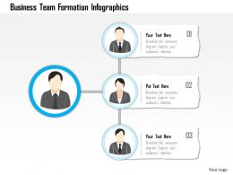 0115 Business Team Formation Infographics Powerpoint Template