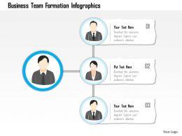 84061713 Style Essentials 1 Our Team 3 Piece Powerpoint Presentation Diagram Infographic Slide