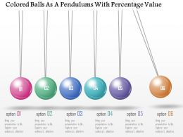 0115_colored_balls_as_a_pendulum_with_percentage_value_powerpoint_template_Slide01