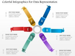 0115 Colorful Infographics For Data Representation Powerpoint Template