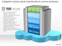 45704510 Style Technology 1 Cloud 1 Piece Powerpoint Presentation Diagram Infographic Slide