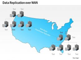 0115 Data Replication Over Wan Wide Area Network Geographic Locations Ppt Slide