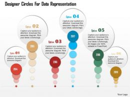 0115 Designer Circles For Data Representation Powerpoint Template