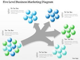0115 Five Level Business Marketing Diagram Powerpoint Template