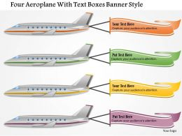 0115_four_aeroplane_with_text_boxes_banner_style_powerpoint_template_Slide01