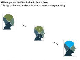 77750010 Style Division Pie 4 Piece Powerpoint Presentation Diagram Infographic Slide