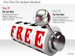 0115 Free Text On Jackpot Machine Image Graphics For Powerpoint