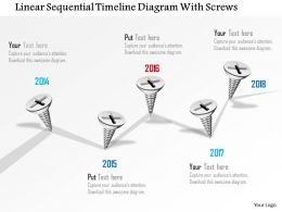0115_linear_sequential_timeline_diagram_with_screws_powerpoint_template_Slide01