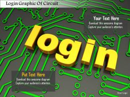 0115 Login Graphic Of Circuit Image Graphics For Powerpoint