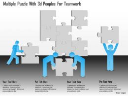 0115_multiple_puzzle_with_3d_peoples_for_teamwork_powerpoint_template_Slide01