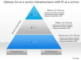 0115 Options For As A Service Infrastructures With It As A Service Ppt Slide