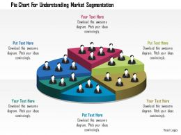 0115 Pie Chart For Understanding Market Segmentation Powerpoint Template