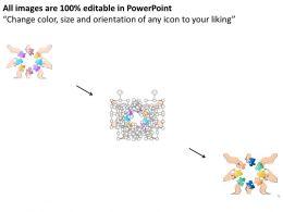 37042951 Style Essentials 1 Our Team 8 Piece Powerpoint Presentation Diagram Infographic Slide
