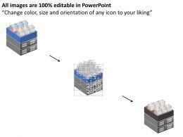 76531179 Style Technology 1 Servers 1 Piece Powerpoint Presentation Diagram Infographic Slide