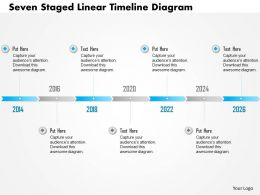 0115_seven_staged_linear_timeline_diagram_powerpoint_template_Slide01