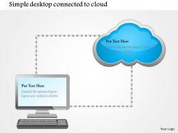 0115_simple_desktop_conntected_to_cloud_ppt_slide_Slide01