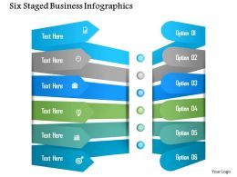 0115 Six Staged Business Infographics Powerpoint Template