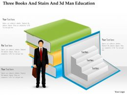 0115_three_books_and_stairs_and_3d_man_education_powerpoint_template_Slide01