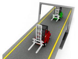 0115_two_forklift_trucks_on_road_stock_photo_Slide01