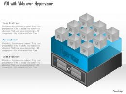 0115 Virtual Desktop Infrastructure Vdi With Vms Over Hypervisor Ppt Slide