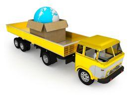 0115_yellow_truck_and_globe_in_carton_stock_photo_Slide01