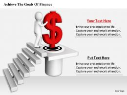 0214 Achieve The Goals Of Finance Ppt Graphics Icons Powerpoint
