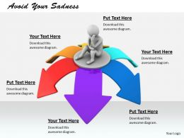 0214 Avoid Your Sadness Ppt Graphics Icons Powerpoint