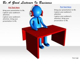 0214 Be A Good Listener In Business Ppt Graphics Icons Powerpoint
