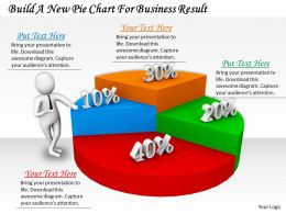 0214 Build A New Pie Chart For Business Result Ppt Graphics Icons Powerpoint