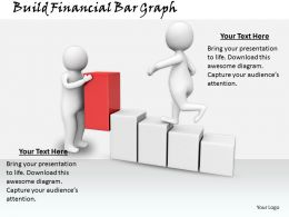 0214 Build Financial Bar Graph Ppt Graphics Icons Powerpoint