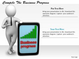0214 Compile The Business Progress Ppt Graphics Icons Powerpoint
