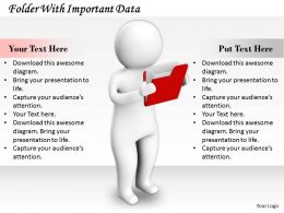 0214 Folder With Important Data Ppt Graphics Icons Powerpoint
