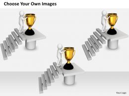 0214 Follow The Path Of Winners Ppt Graphics Icons Powerpoint