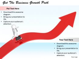 0214 Get The Business Growth Path Ppt Graphics Icons Powerpoint