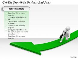 0214 Get The Growth In Business And Sales Ppt Graphics Icons Powerpoint