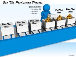 0214 See The Production Process Ppt Graphics Icons Powerpoint
