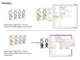 0214 Study The Human Dna Structure Ppt Graphics Icons Powerpoint