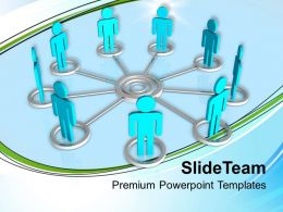 0313 3d Men Interconnection Teamwork PowerPoint Templates PPT Themes And Graphics
