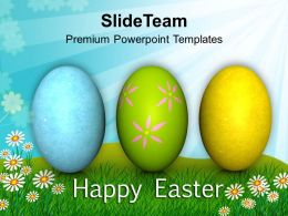 0313 Christian Festival Easter Day PowerPoint Templates PPT Themes And Graphics