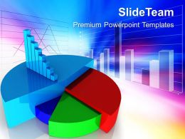 0313 Financial Pie Chart Business Marketing Strategy PowerPoint Templates PPT Themes And Graphics