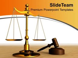 0313 Justice Found In Law Court Business PowerPoint Templates PPT Themes And Graphics