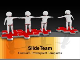 0313 Man Joining Community Team Work PowerPoint Templates PPT Themes And Graphics