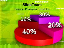 0313 Percentage Pie Chart Growth Future PowerPoint Templates PPT Themes And Graphics