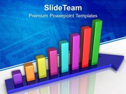 0313 Progress In Business Using Bar Graph PowerPoint Templates PPT Themes And Graphics