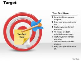 0314 Arrow Target Goal Diagram 2